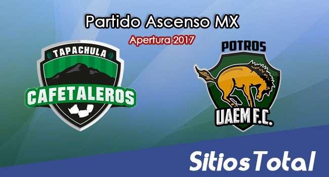 Cafetaleros de Tapachula vs UAEM Potros en Vivo – Jornada 9 Apertura 2017 Ascenso MX – Sábado 7 de Octubre del 2017