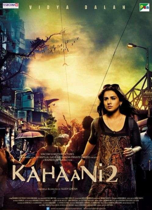 Poster Kahaani 2 2016 Full Hindi Movie Download 700MB