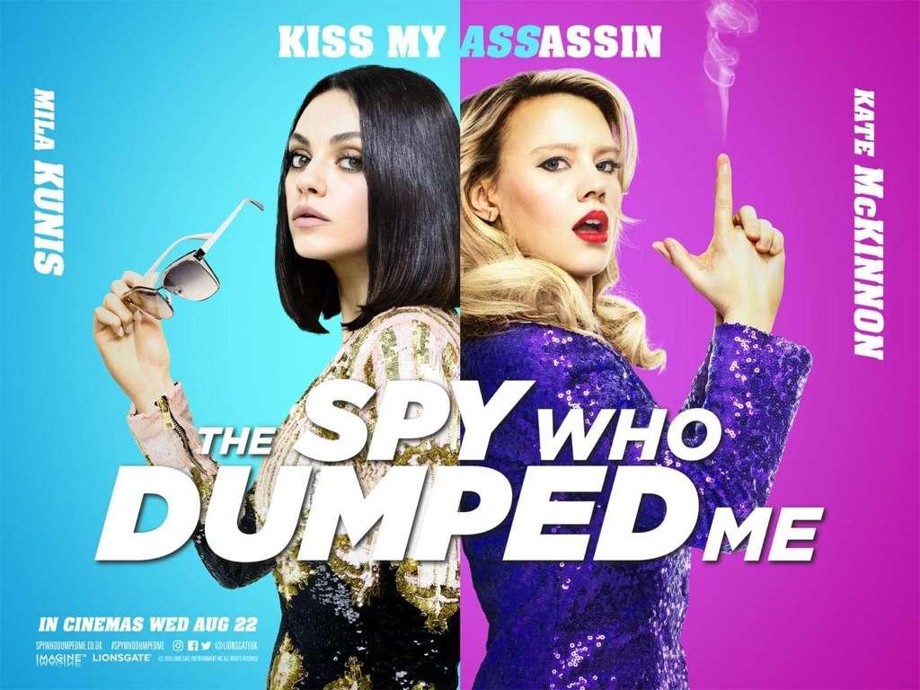 Ο Κατάσκοπος που με Παράτησε (The Spy Who Dumped Me) Quad Poster Πόστερ