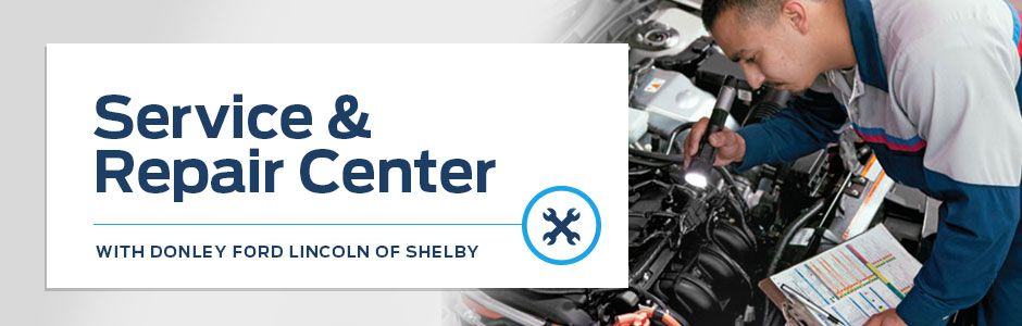 Service and Repair Center at Donley Ford of Shelby