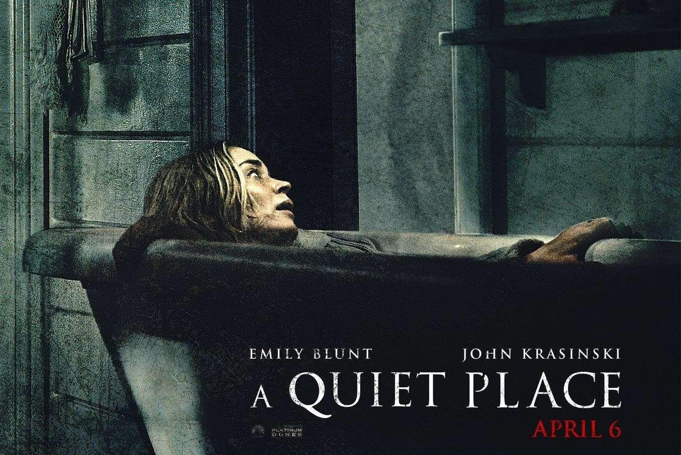 Ένα Ήσυχο Μέρος (A Quiet Place) Quad Poster Πόστερ