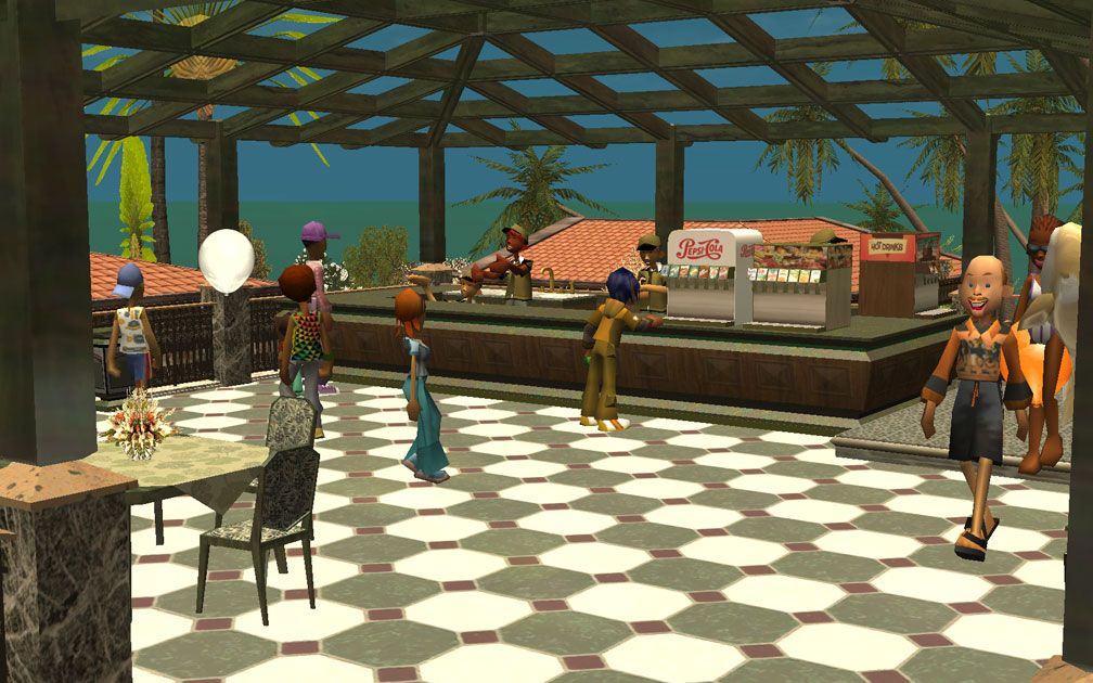 My Projects - CSO's I Have Imported, Café - Café Scene, Image 01