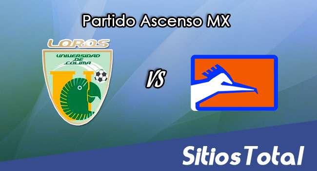 Loros de Colima vs Correcaminos en Vivo – Online, Por TV, Radio en Linea, MxM – Clausura 2017 – Ascenso MX