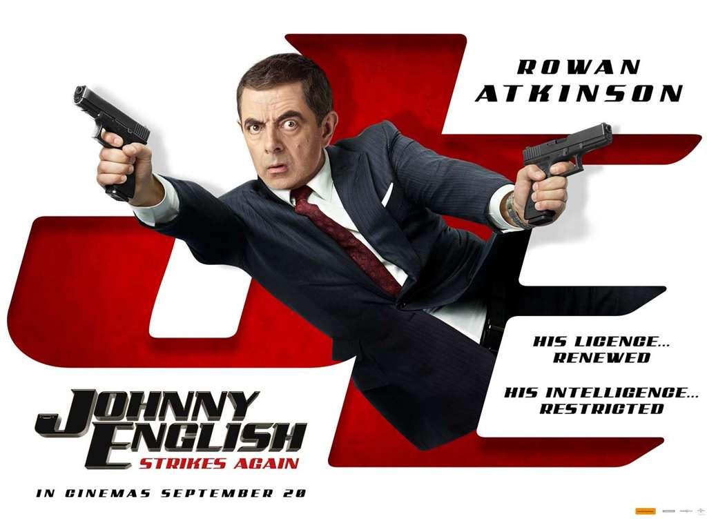 Ο Johnny English Ξαναχτυπά (Johnny English Strikes Again) Quad Poster Πόστερ