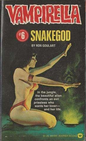 Snake God (Vampirella #6), Goulart, Ron