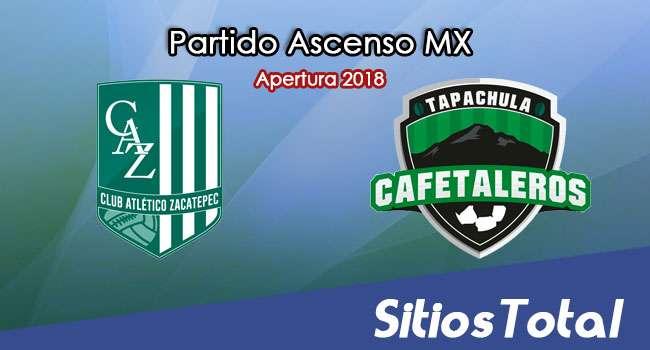Ver Atlético Zacatepec vs Cafetaleros de Tapachula en Vivo – Ascenso MX en su Torneo de Apertura 2018