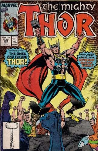 Le Thor  337, apparition de Beta Ray Bill et premier chapitre de la  légendaire prestation de Walt Simonson, est proposé ici dans sa  recolorisation par Steve ... b137a4c3576