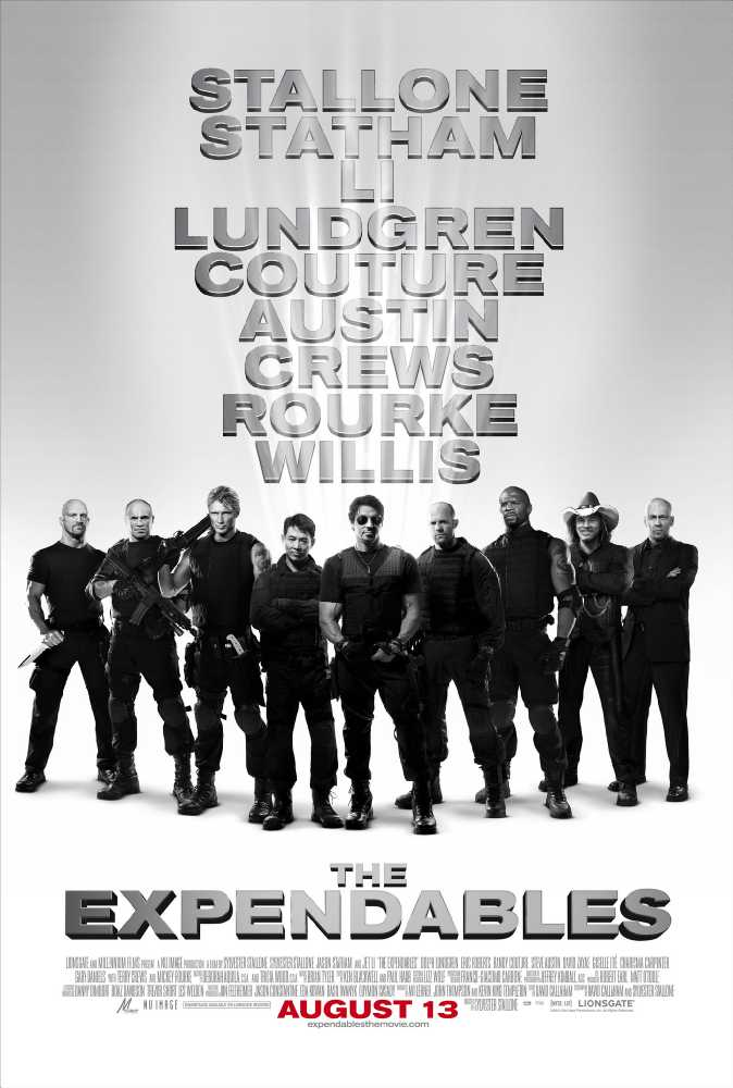 Poster The Expendables Full HD Movie Download in Hindi Dual Audio 720p