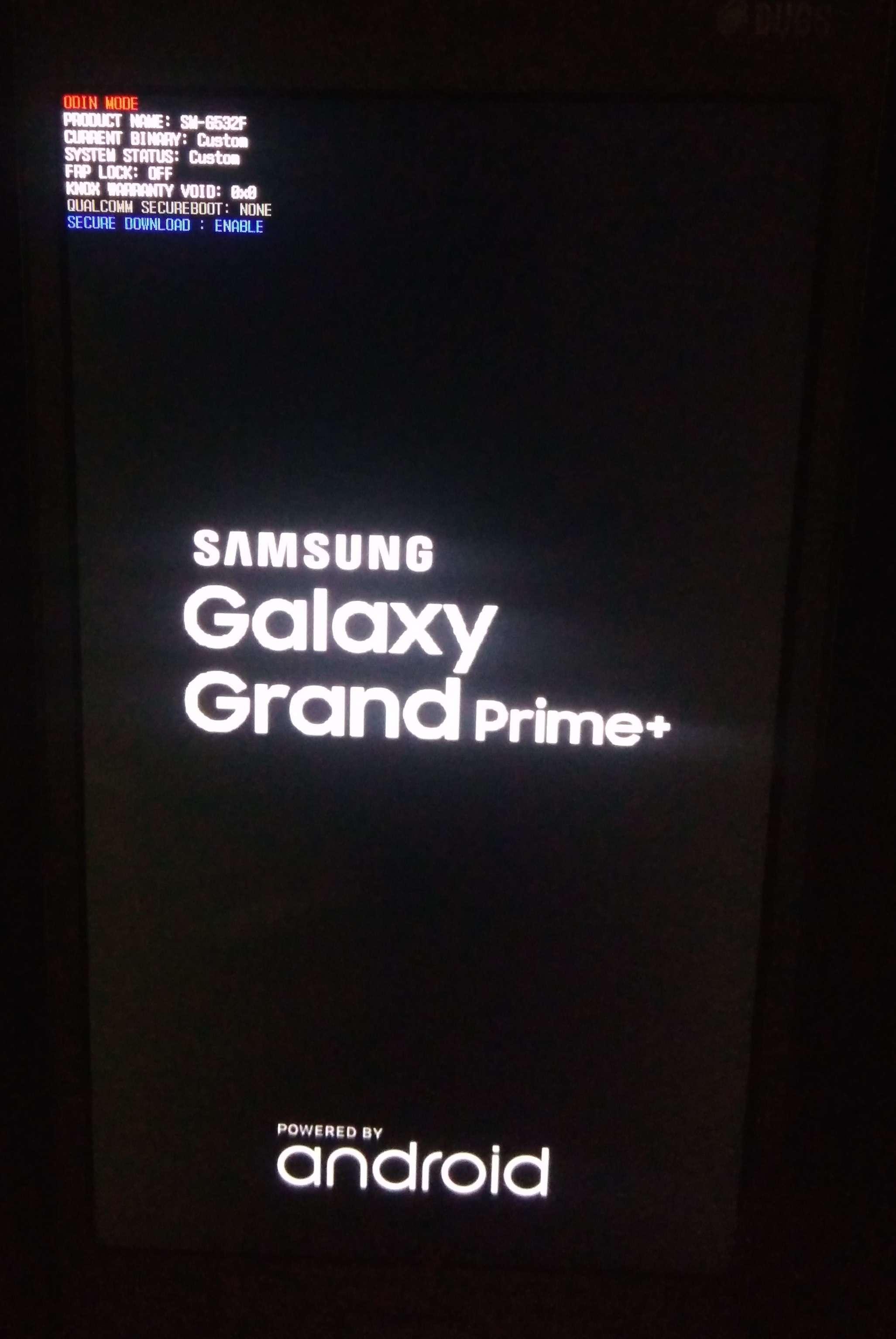 SM-G532f Stuck on Galaxy GRAND PRIME+ Logo[Solved] - GSM-Forum