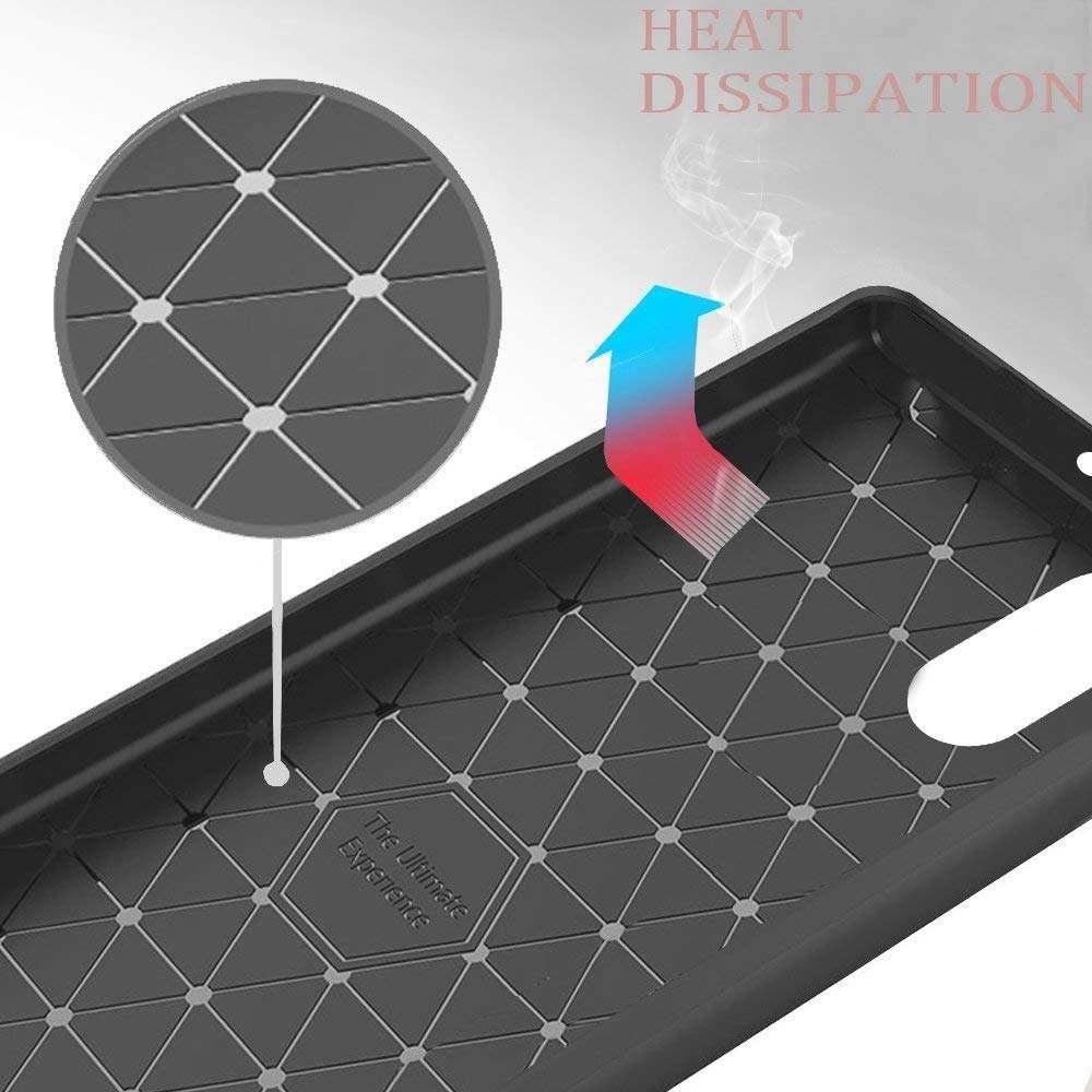Housse-Huawei-P20-Etui-Coque-protection-Ultra-Fine-Fibre-de-Carbone miniature 4