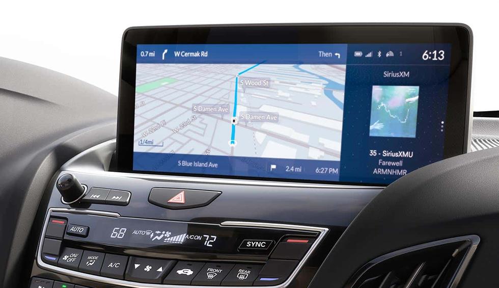 2019 Acura RDX Display Screen
