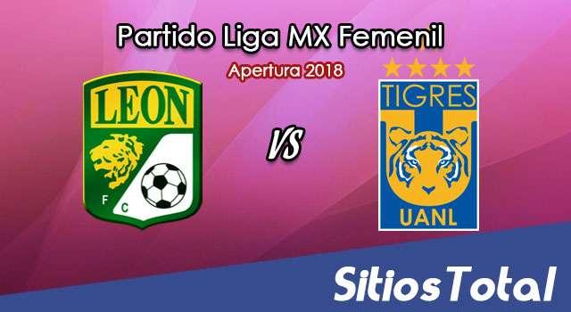 León vs Tigres en Vivo – Liga MX Femenil – Viernes 20 de Julio del 2018