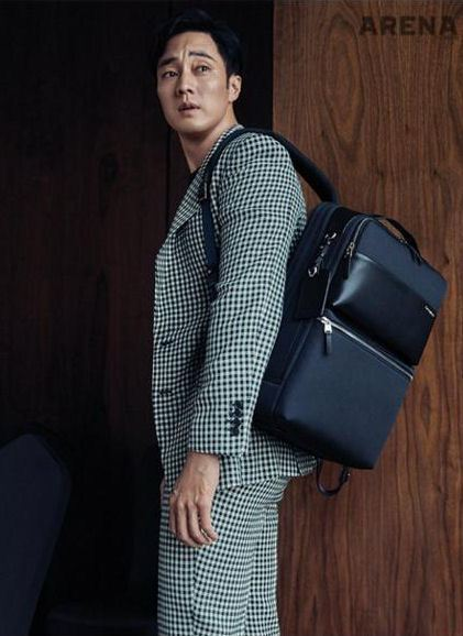 So Ji Sub Covers July 2018 Arena Homme Plus Couch Kimchi