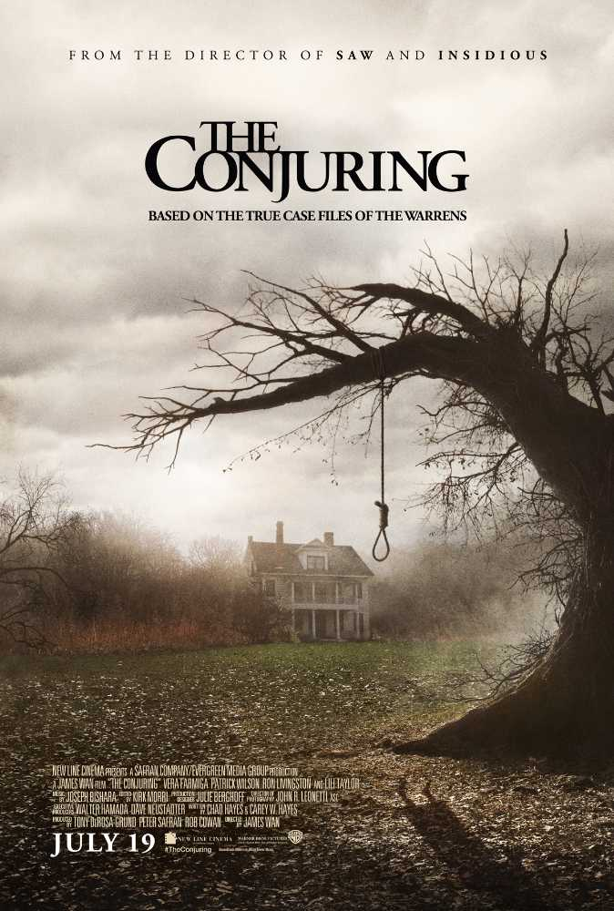 Poster The Conjuring Full HD Download Free in Hindi 720p Dual Audio