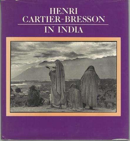 Henri Cartier-Bresson in India (English and French Edition), Cartier-Bresson, Henri