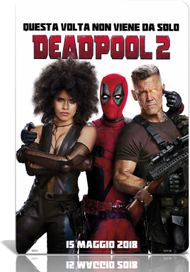 Deadpool 2 (2018).mkv MD MP3 720p HDCAM - iTA