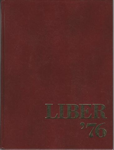 Liber 1976 Brown University Providence Rhode Island Yearbook, Class of 1976