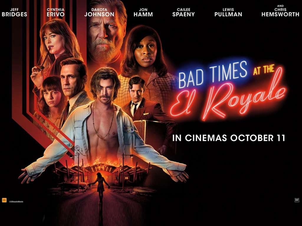 Δύσκολες Ώρες Στο Ελ Ροαγιάλ (Bad Times at the El Royale) Quad Poster Πόστερ