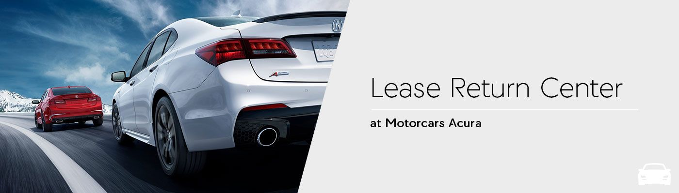 Lease Return Center at Motorcars Acura in Bedford, Ohio
