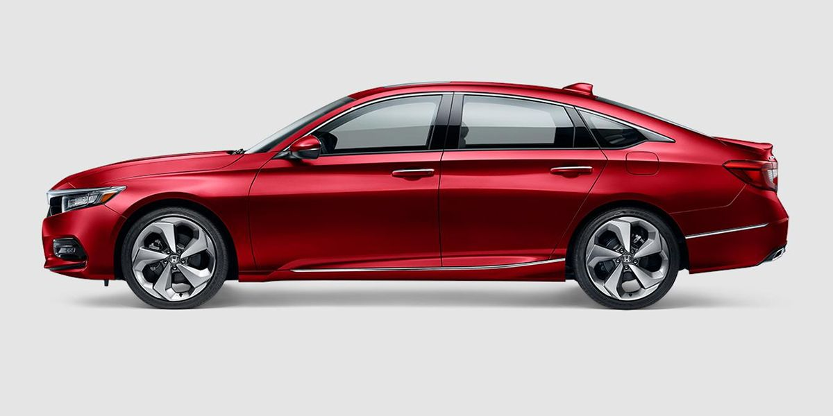 2018 Honda Accord Touring in Radiant Red