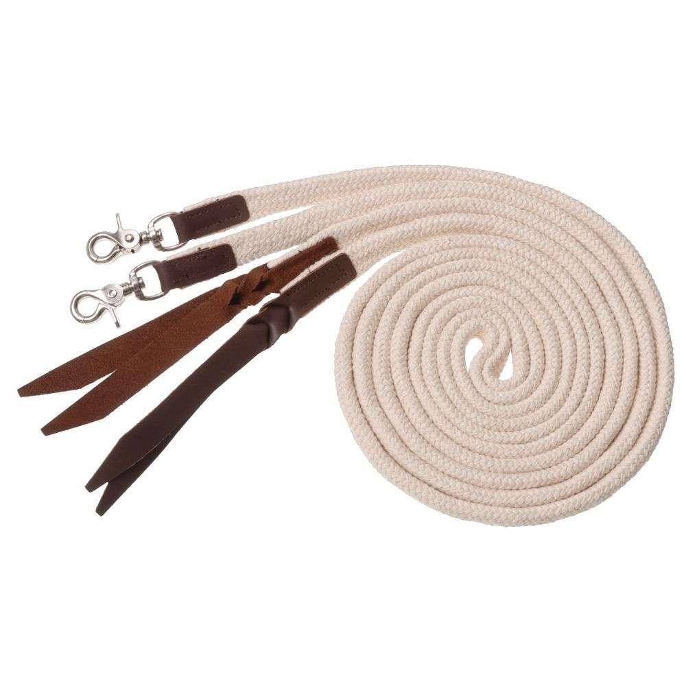 Tough-1-Royal-King-Deluxe-Flat-Braided-Cotton-Split-Reins-7-039-Long