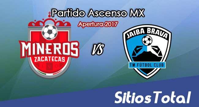Mineros de Zacatecas vs Tampico Madero en Vivo – Online, Por TV, Radio en Linea, MxM – Apertura 2017 – Ascenso MX
