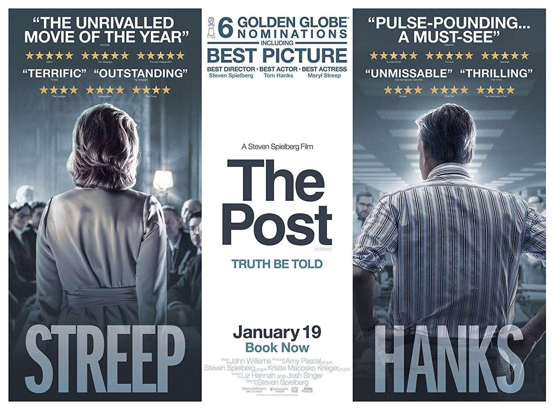The Post: Απαγορευμένα Μυστικά (The Post) Movie