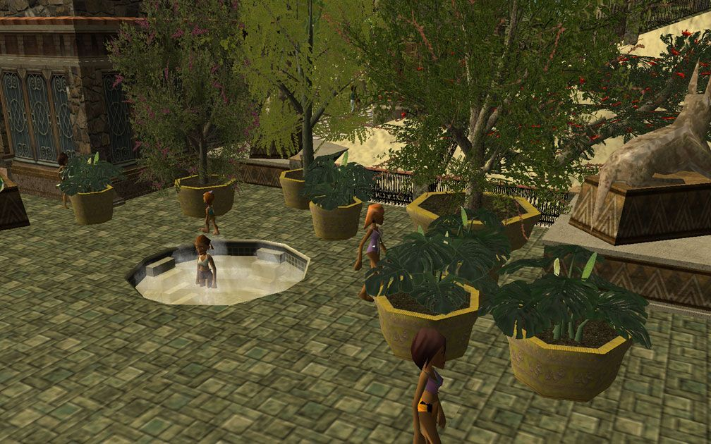 My Projects - CSO's I Have Imported, Planters And Pool Fencing - Screenshot Displaying Pool Decking Planters Near Pool Changing Rooms/Pool Amenities Building, Image 04
