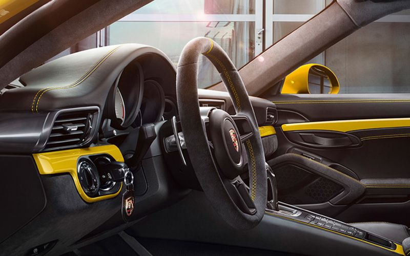Porsche Exclusive Manufaktur Interior