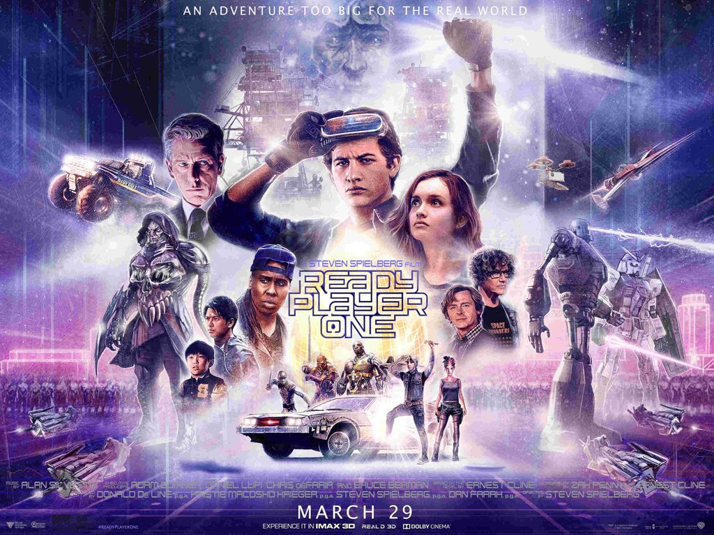 Ready Player One Quad Poster Πόστερ