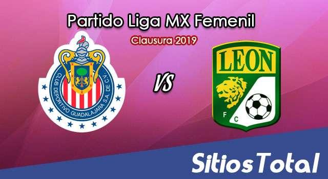 Ver Chivas vs León en Vivo – Liga MX Femenil – Clausura 2019 – Lunes 7 de Enero del 2019