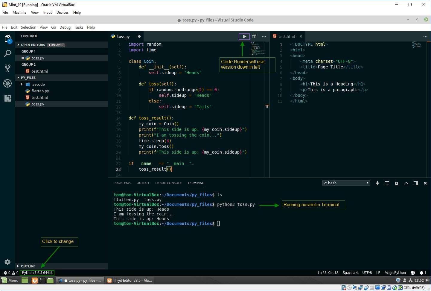 VS Code from start