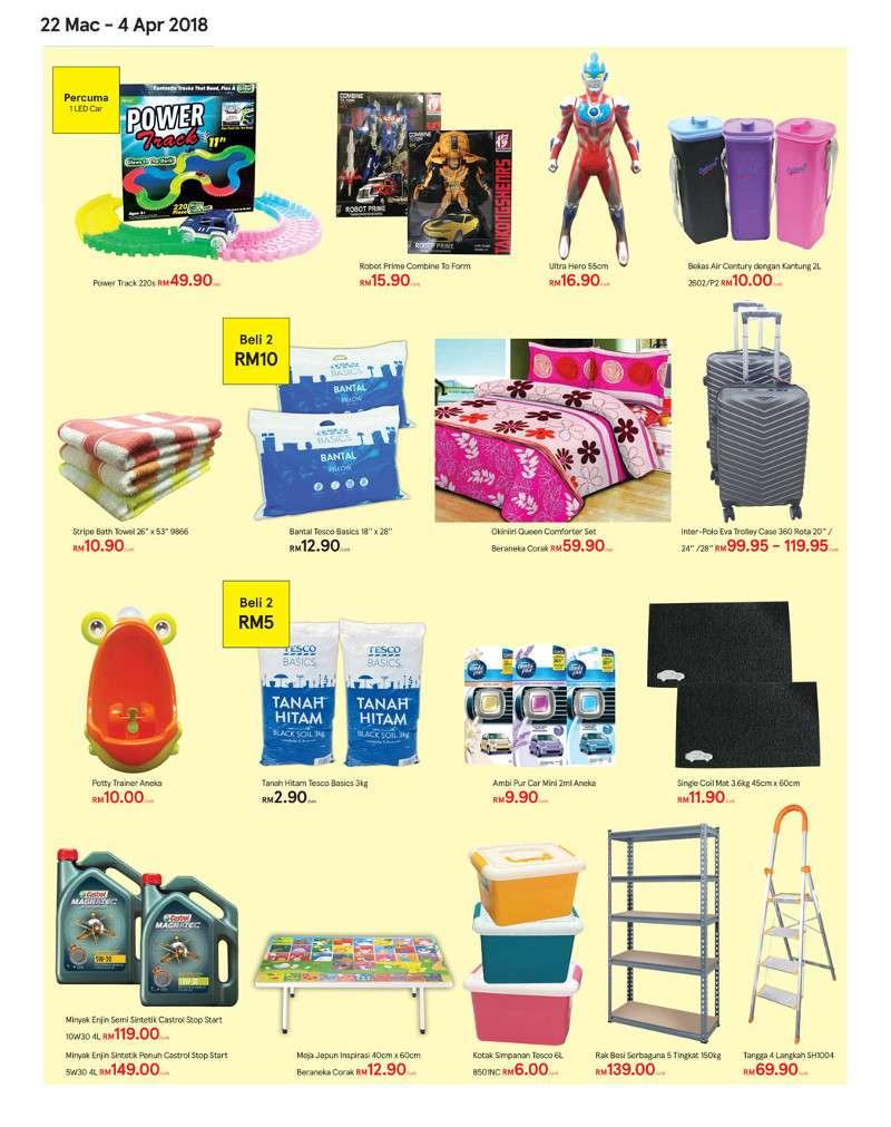 Tesco Malaysia Weekly Catalogue (22 Mar - 28 Mar 2018)