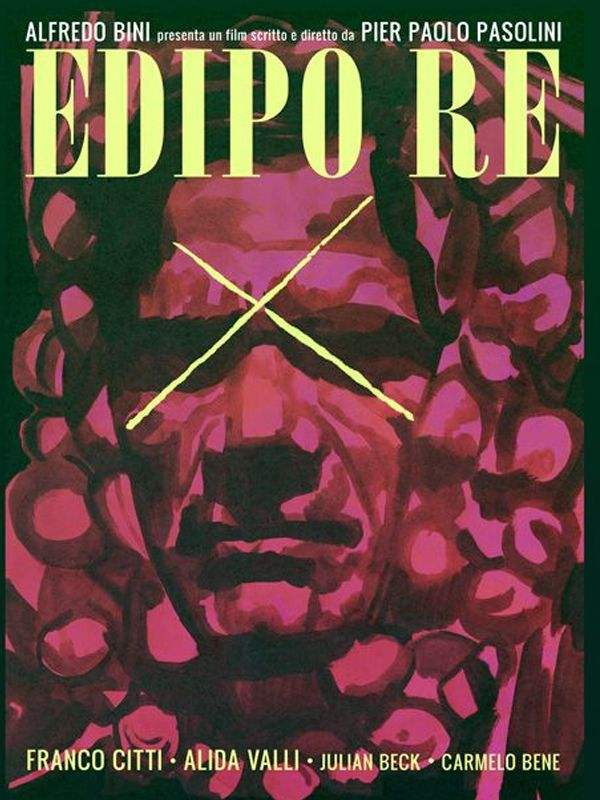 Edipo Re Βασιλιάς Οιδίπους Poster