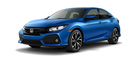 2018 Civic Sport FWD Hatchback Lease Deal in Ann Arbor Michigan