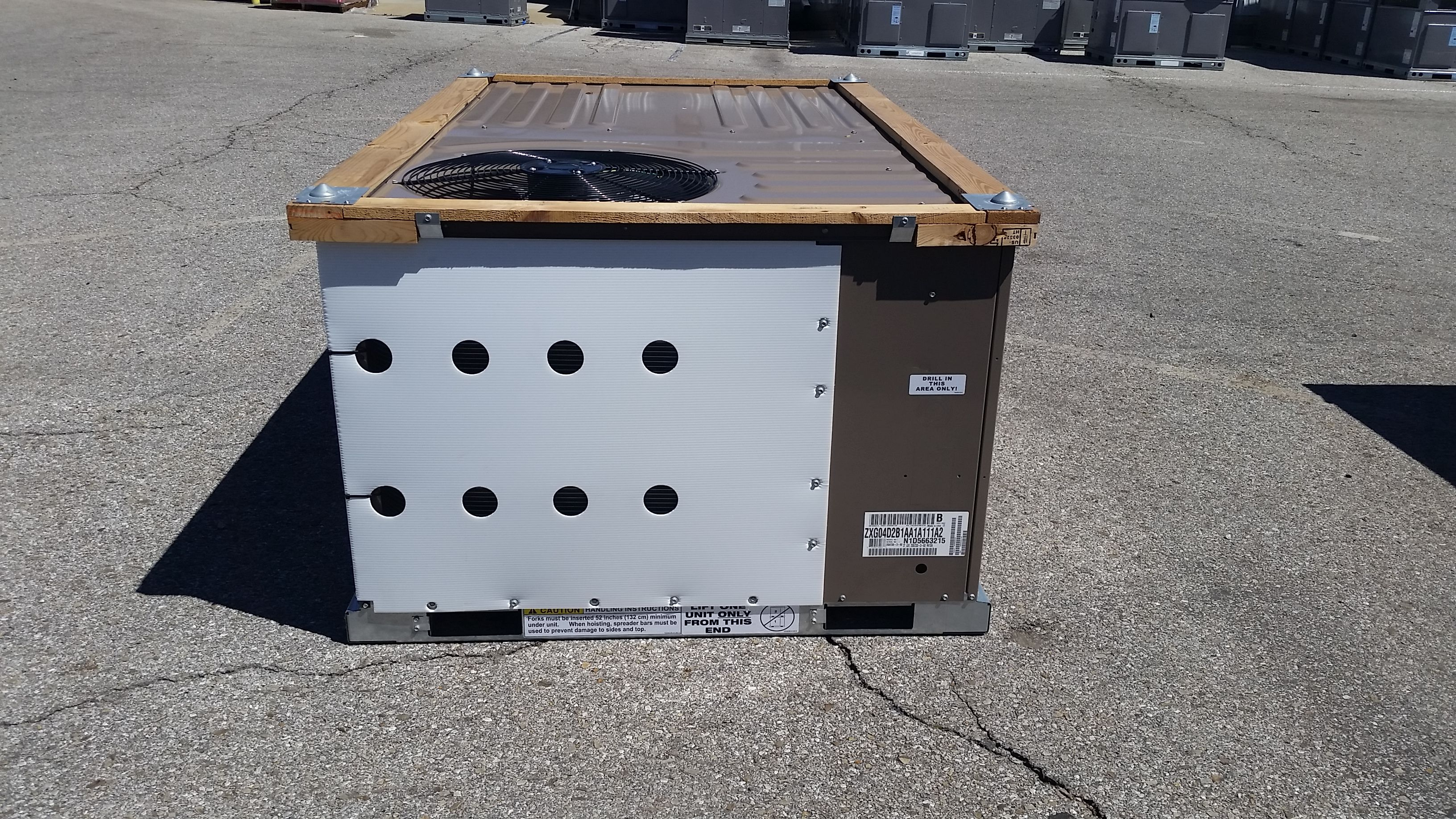 commercial york 3 ton gas package 208 230 3 phase unit. Black Bedroom Furniture Sets. Home Design Ideas