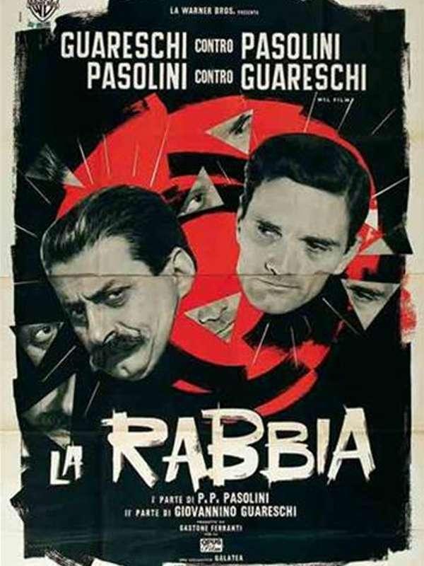 La rabbia di Pasolini Η οργή του Παζολίνι Poster