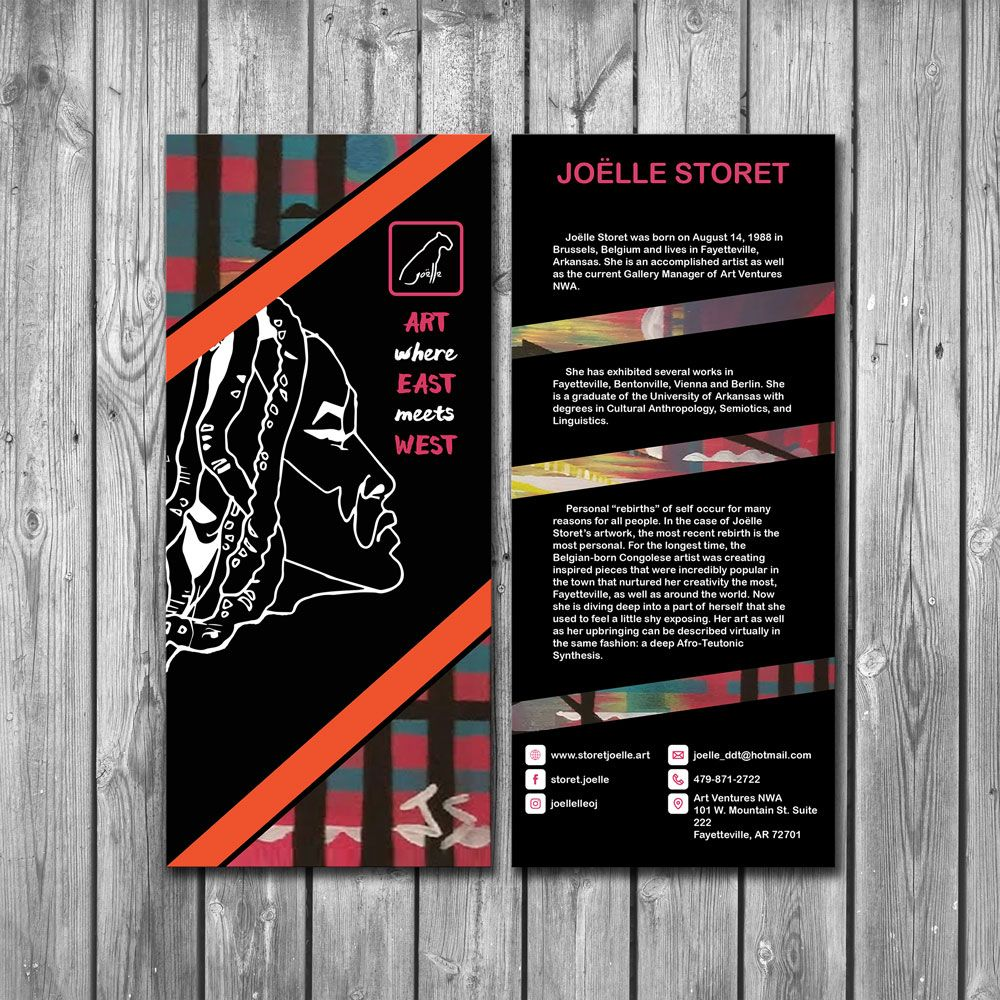 Joëlle Storet Rack Card