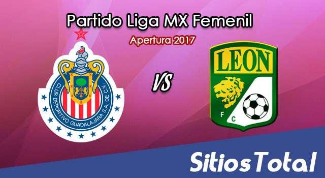 Chivas vs León en Vivo – Liga MX Femenil – Domingo 29 de Octubre del 2017
