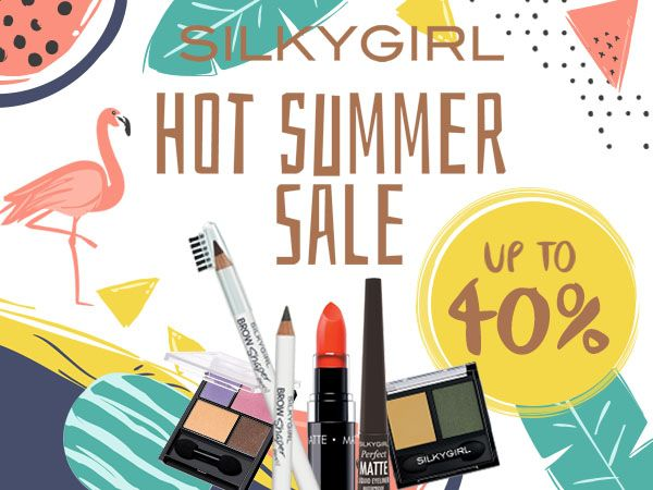 [OFFICIAL STORE] SILKYGIRL Hot Summer Sale up to 40%