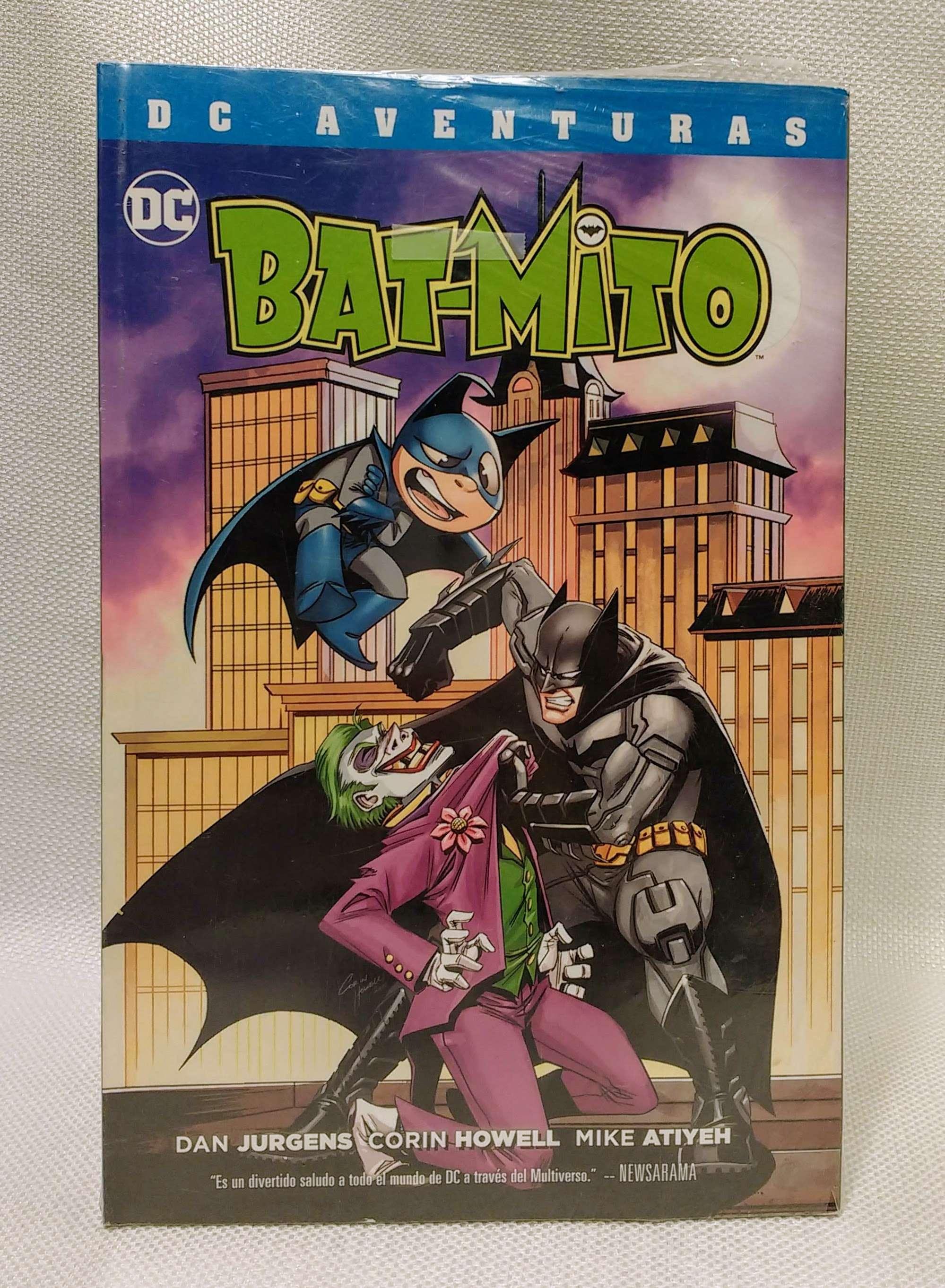 Bat-Mito (DC Aventuras), Jurgens, Dan; Howell, Corin; Atiyeh, Mike