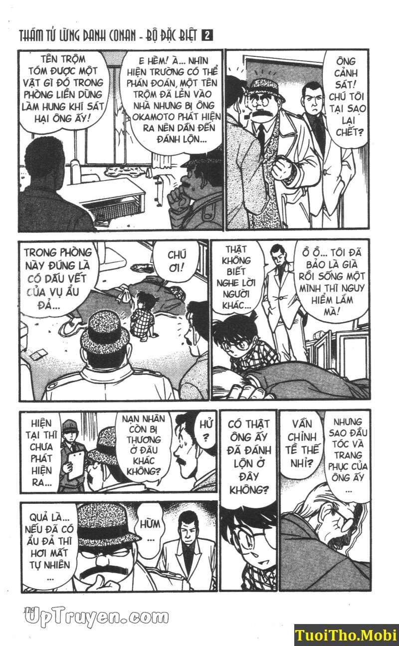 đọc truyện Conan bộ đặc biệt chap 15 trang 4