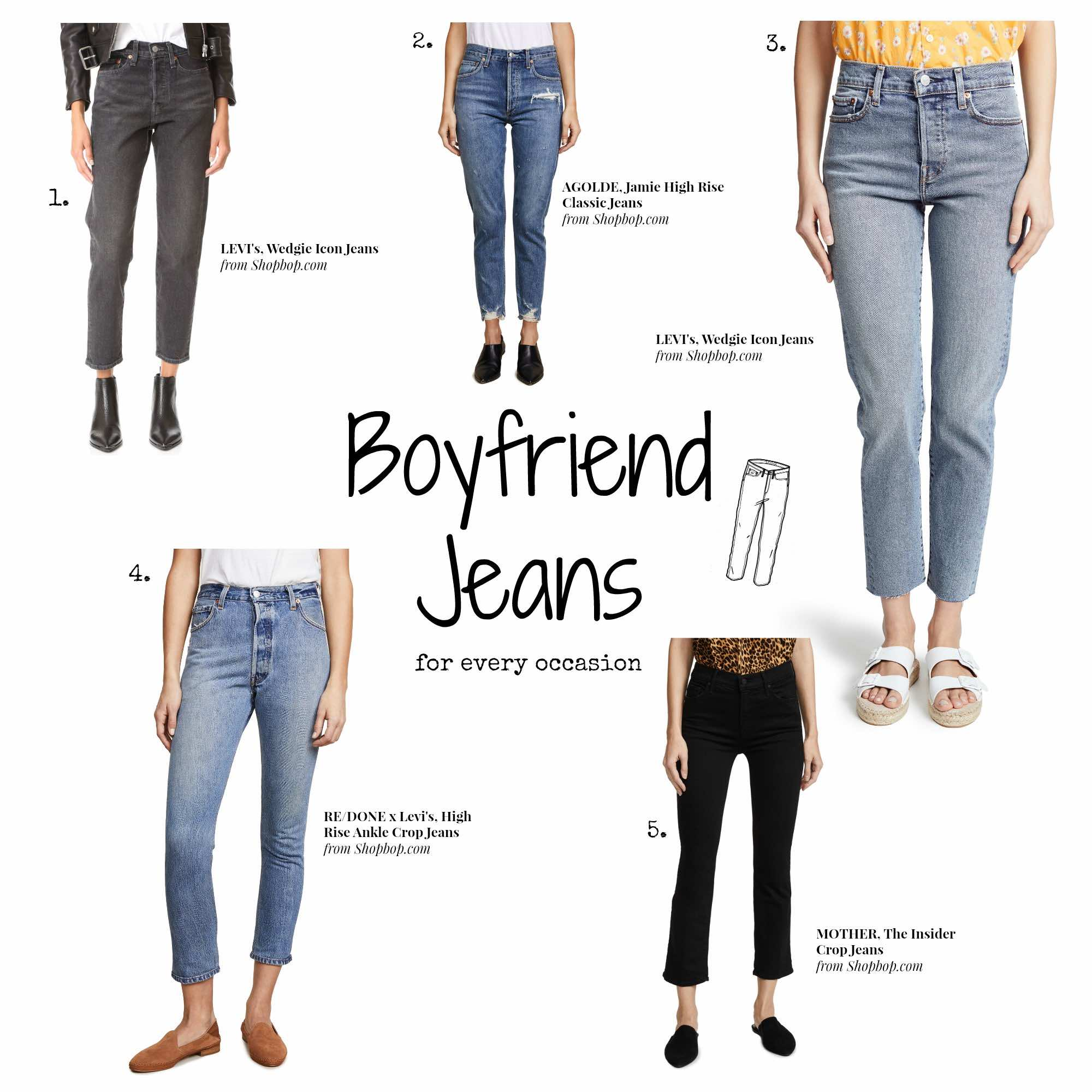 Shopbop Sale - Boyfriend Jeans