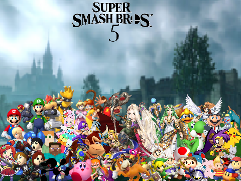 I made some fanmade Super Smash Bros 5 Wallpapers  - Discuss
