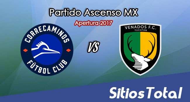 Correcaminos vs Venados FC en Vivo – Jornada 12 Apertura 2017 Ascenso MX – Viernes 20 de Octubre del 2017