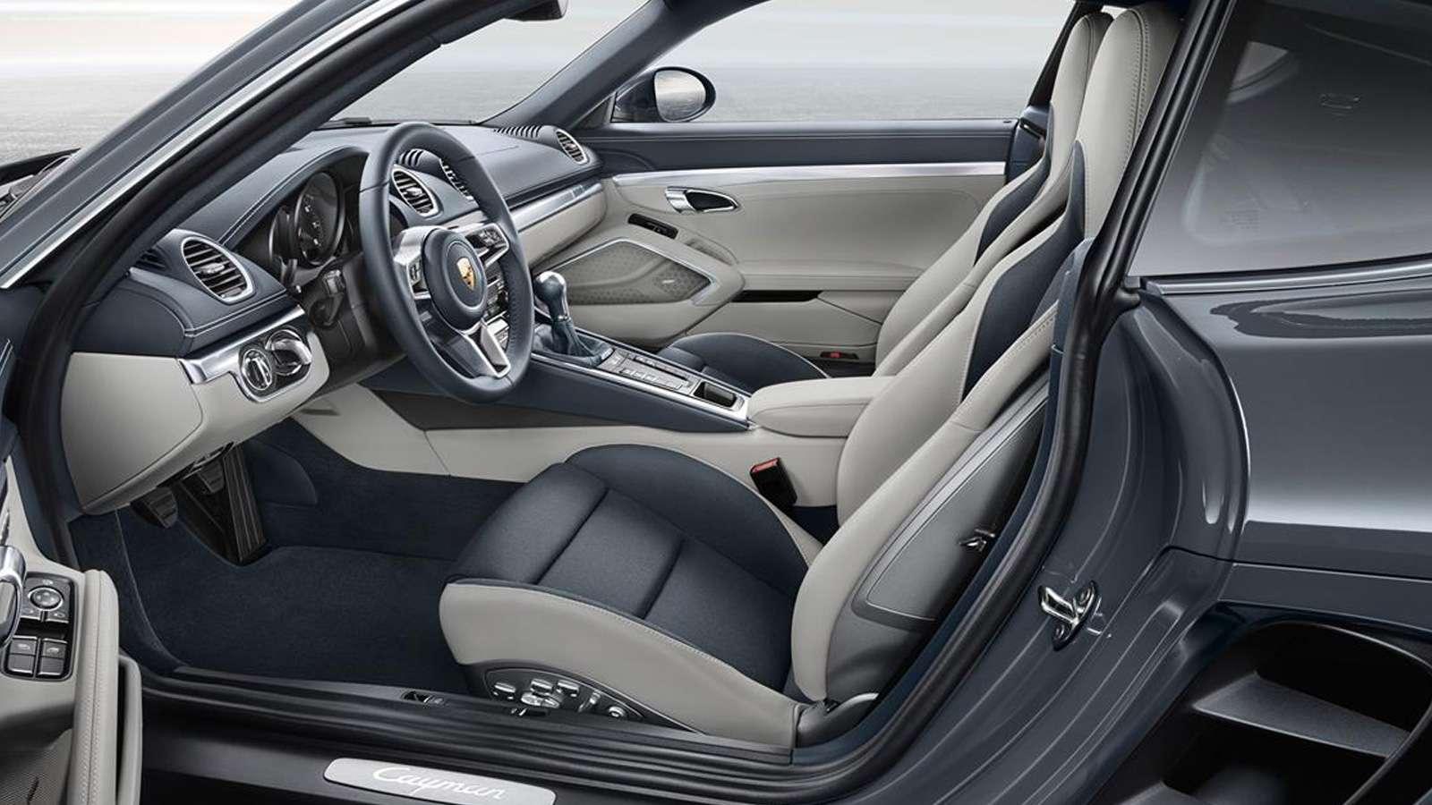 2018 Porsche 718 Cayman Interior