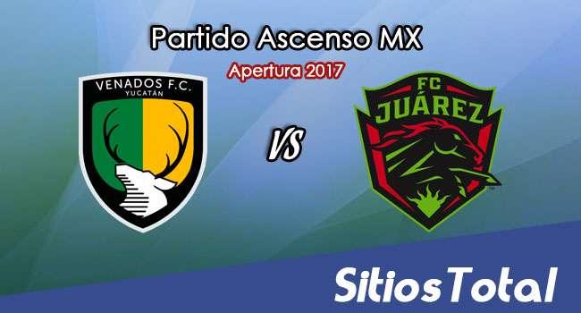 Ver Venados FC vs FC Juarez en Vivo – Online, Por TV, Radio en Linea, MxM – Apertura 2017 Ascenso MX