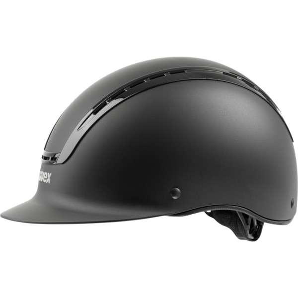 UVEX Suxxeed Active Riding Helmet with Hardshell Hardshell Hardshell and Synthetic Leder 77017c