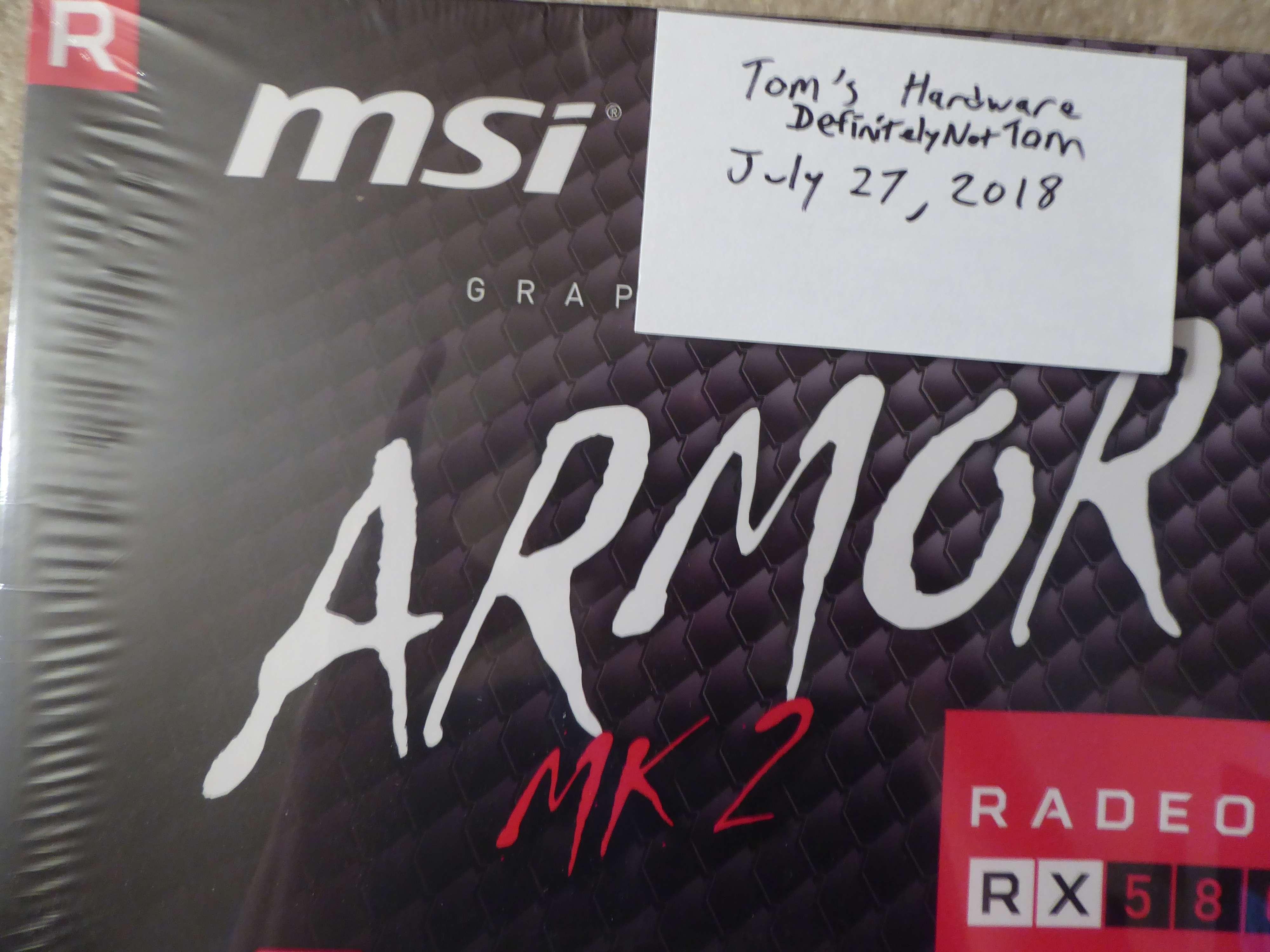 wts msi 8gb rx 580 armor mk2 oc gpu unused sold classifieds