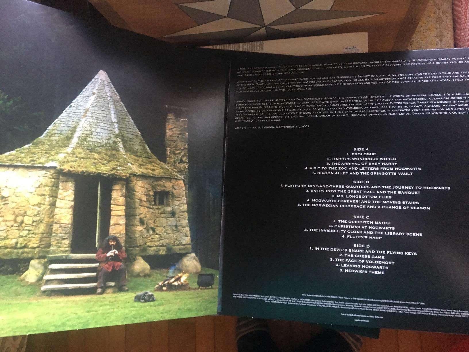 harry potter trilha sonora vinil